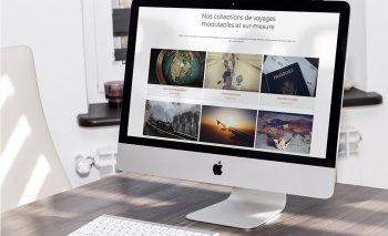 Mise en ligne du site Connaisseurs du Voyage