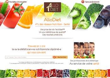 Mise en ligne Allo Diet