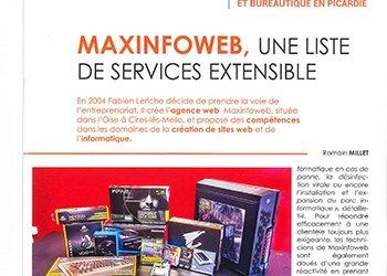 Maxinfoweb dans Picardie La Gazette