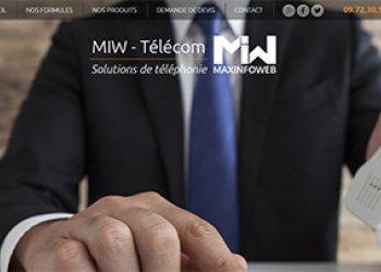 Maxinfoweb développe son activité téléphonie