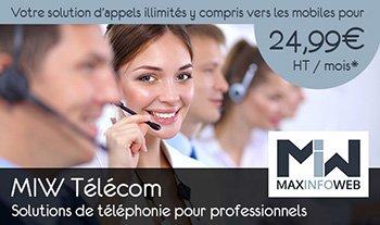 Solutions de téléphonie MIW Télécom