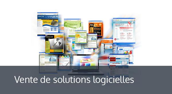 Vente de solutions logicielles